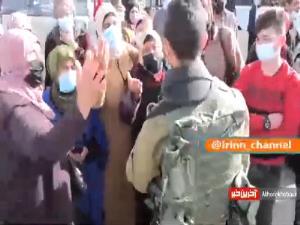 ممانعت صهیونیستها از ورود نمازگزاران فلسطینی به مسجدالاقصی