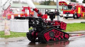 ربات های آتشنشان در چین!