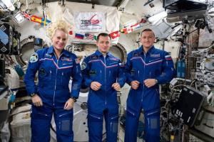 بازگشت فضانوردان ماموریت