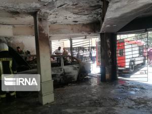 ۱۵ شهروند شیرازی در محاصره شعلههای آتش قرار گرفتند