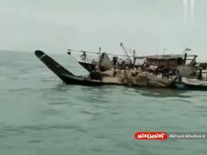 نجات سرنشینان یک لنج باری در خلیجفارس