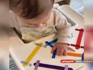 طراحی بازی برای کودک زیر دو سال