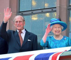 حواشی مراسم خاکسپاری همسر ملکه انگلیس