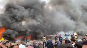 داعش مسئولیت انفجار بغداد را به عهده گرفت