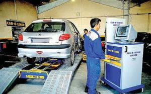 آغاز جریمه خودروهای فاقد معاینه فنی در اهواز