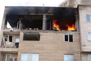 لحظه انفجار یک منزل مسکونی در چین