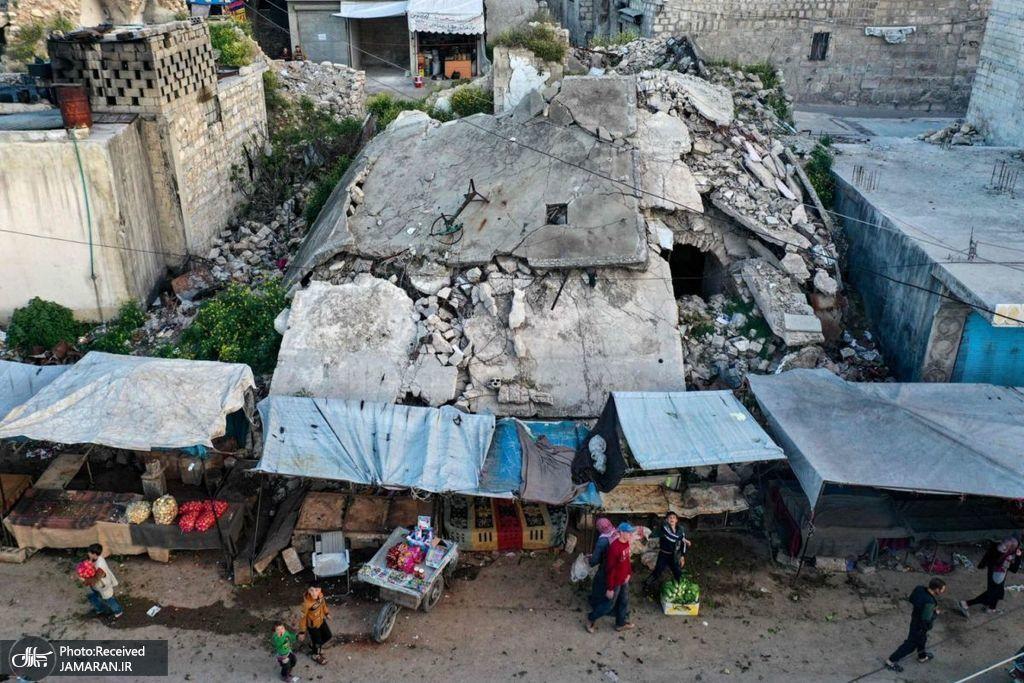 خرید افطار سوری های جنگ زده در حومه ادلب
