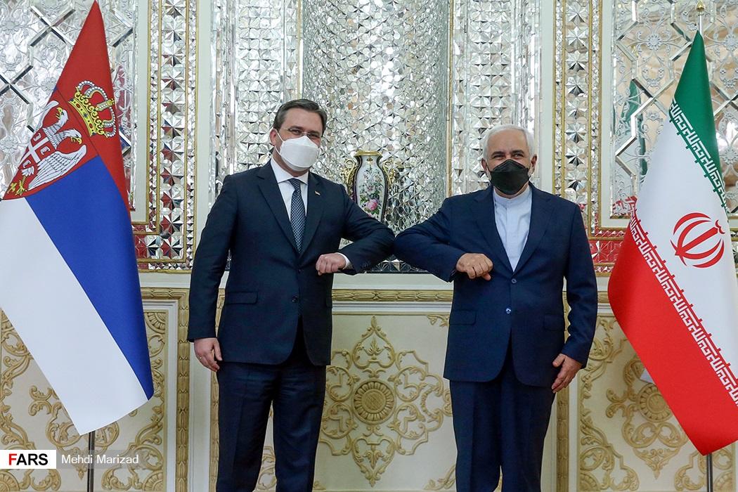 عکس/ دیدار وزیر امور خارجه صربستان با ظریف