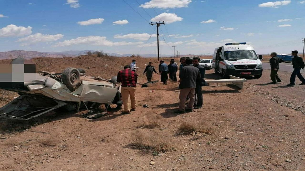 تصادف در محور باخرز_تربتحیدریه یک کشته بر جای گذاشت