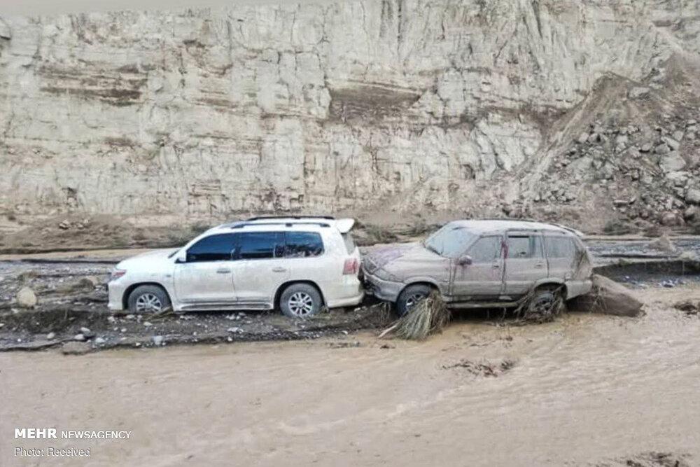 عکس/ خسارات سیلاب در منطقه کویری شهداد