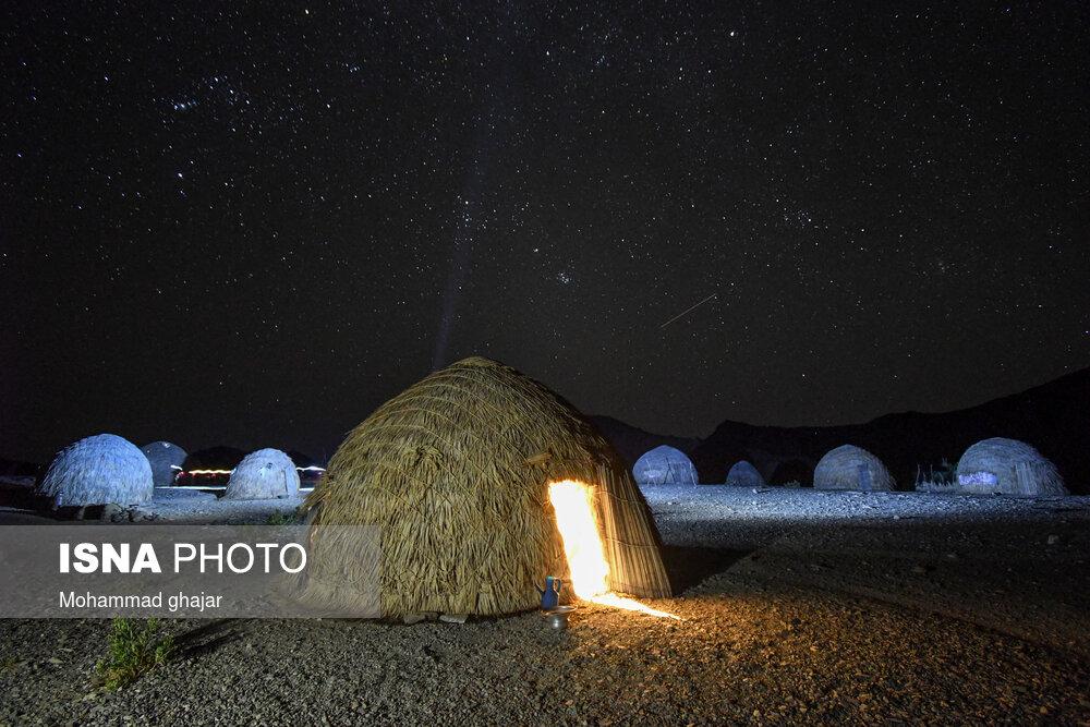 عکس/ تلخ و شیرین زندگی در روستای کپرنشین «بارگدان»