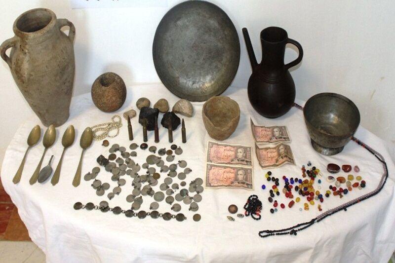 قاچاقچی آثار هخامنشی در شهرستان گرمی دستگیر شد