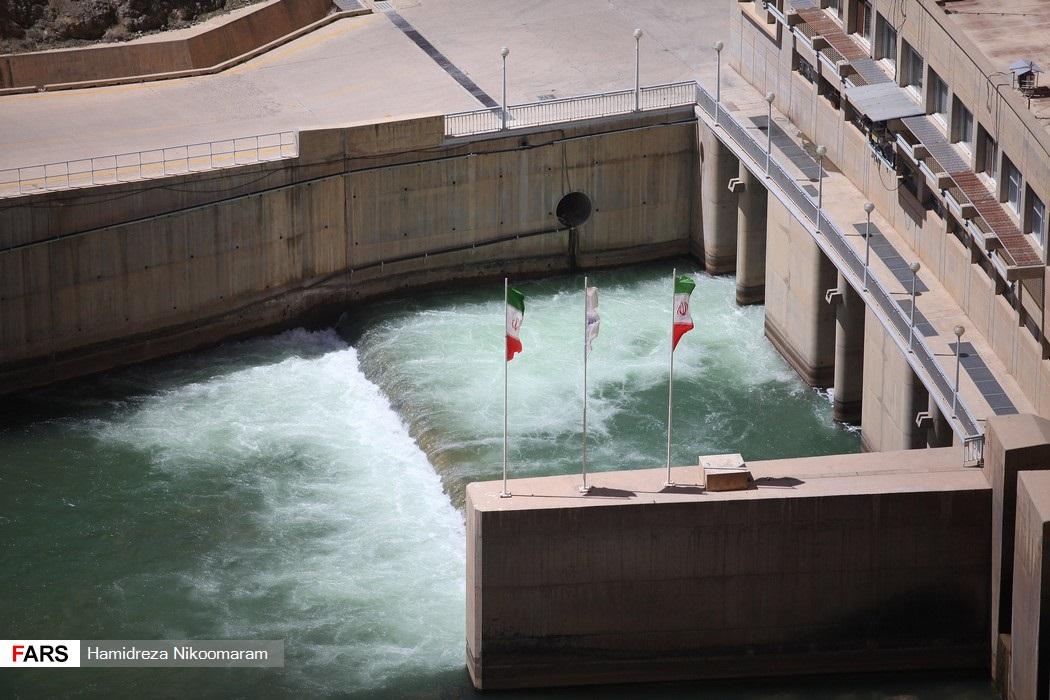 حجم آبِ کمِ سد زایندهرود
