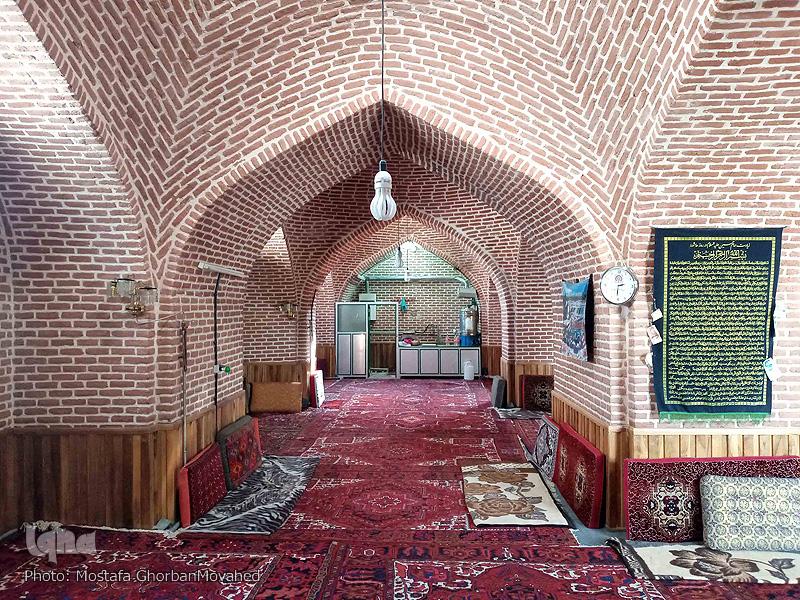 معماری مسجد جامع شهرستان اهر