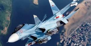 رزمایش بزرگ هوایی روسیه بر فراز دریای سیاه