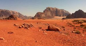 صحرای سرخ شبیه به مریخ در ریاض