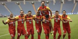 پیروزی فولاد مقابل الوحدات اردن در نیمه اول