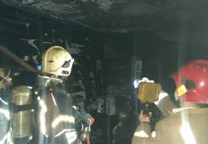 جزئیات آتشسوزی در پاساژ مهستان
