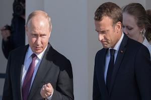 ماکرون خواستار مذاکره با پوتین شد