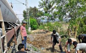 سلفی مرگبار نوجوان هندی روی قطار!