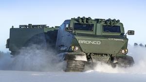 خودروی جدید ارتش آمریکا تست میشود؛ مخصوص شرایط سرد و زمینهای برفی