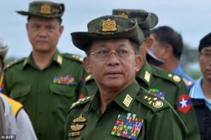 رهبر خونتای میانمار در نشست آ.سه.آن شرکت میکند