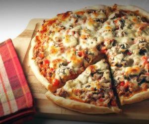صفر تا صد تهیه پیتزا خانگی خوشمزه