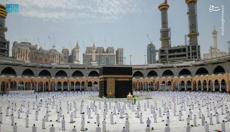 اولین نماز جمعه ماه رمضان در مسجدالحرام