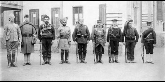 سربازان کشورها