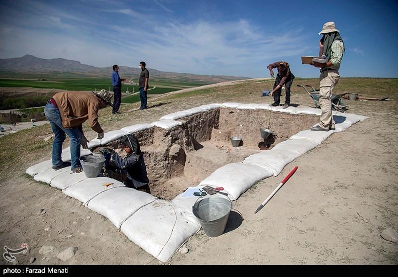 کاوش باستانی در «قباق تپه» کرمانشاه