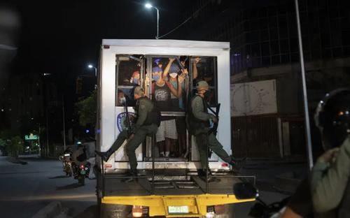 دستگیری ناقضان محدودیت های کرونایی در شهر «کاراکاس» ونزوئلا