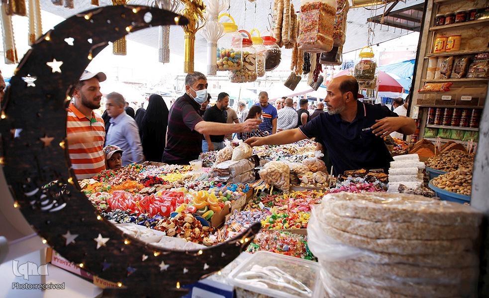 عکس/ حال و هوای ماه مبارک رمضان در عراق