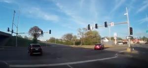 تصادف عجیب خودرو!