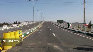 بهرهبرداری از پل شهرک صنعتی پرند با حضور وزیر راه