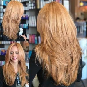 مدل موی لیر برای موی کوتاه و بلند