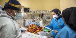 پر شدن بیش از ۸۷ درصد تختهای بیماران کرونایی در رزن