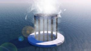تولید آب آشامیدنی از نور خورشید با مواد پایدار و ارزان