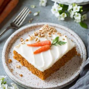 روش عالی برای تهیه کیک هویج و گردو خوشمزه و دلچسب