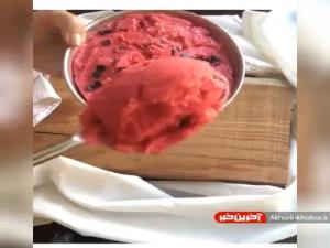 آموزش تهیه بستنی خانگی سالم و خوشمزه