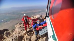 ٢١ ساعت مأموریت خطرناک در ارتفاع ٣ هزار متری