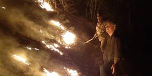 مهار آتشسوزی جنگل و مراتع کوه خامی گچساران پس از ۳ روز