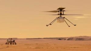 پرواز نخستین هلیکوپتر ناسا بر فراز مریخ با پخش زنده این رویداد تاریخی