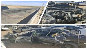 سرعت زیاد، عامل مرگ راننده ۱۴ ساله