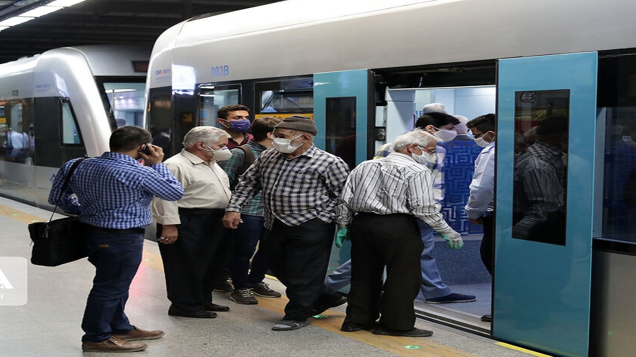 جابهجایی بیش از ۷۷۹ هزار مسافر در هفته قرمز کرونایی با مترو مشهد
