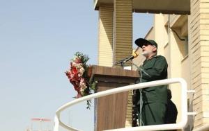 سردار قاآنی در مراسم تشییع سردار حجازی: راه درخشان مقاومت همچنان ادامه خواهد داشت