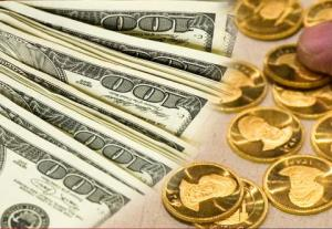 افت قیمت نیم سکه در بازار عصر؛ نرخ دلار و یورو باز هم ریخت