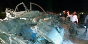 ۵ نفر طی ۲ سانحه رانندگی در استان فارس جان باختند