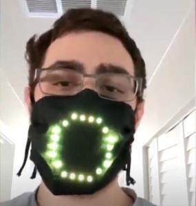 طرح خلاقانه ماسک دیجیتال را تماشا کنید
