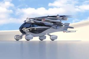 خودروی پرنده برقی Aska با طراحی منحصر بهفرد معرفی شد