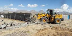 رفع تصرف بیش از ۱۵۶ هکتار از اراضی شهری استان بوشهر
